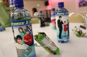 Korean drama water bottles- How absolutely creative!