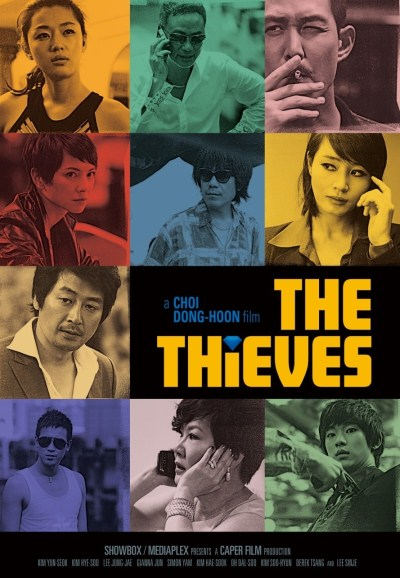 the theives korean film poster