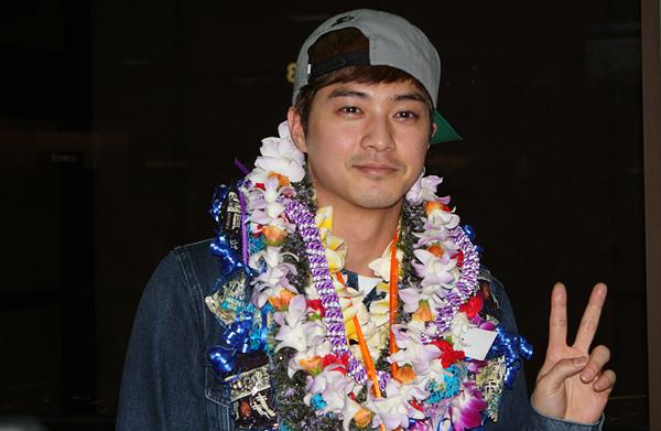 kim ji hun leid in hawaii, kim ji hun vacationing in Hawaii, 킴 지훈 visits Hawaii 2013